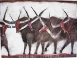Obras de arte: America : México : Mexico_Distrito-Federal : Coyoacan : LOS TOROS DE LORCA