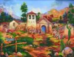 Obras de arte: America : Perú : Cusco : sicuani : paisaje