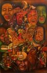 Obras de arte: America : Colombia : Santander_colombia : Bucaramanga : EUFORIA-DISFORIA DEL ESPECTACULO