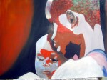 Obras de arte: Europa : España : Catalunya_Tarragona : Valls : maternidad de malauwi