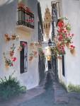 Obras de arte: America : Argentina : Buenos_Aires : Capital_Federal : Calle de las flores