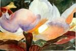 Obras de arte: Europa : España : Madrid : Valdemorillo : flor del magnolio