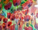 Obras de arte: Europa : España : Madrid : Valdemorillo : amapolas en mi campo