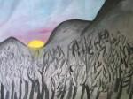 Obras de arte: Europa : España : Catalunya_Barcelona : BCN : Árboles quemados