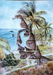 Obras de arte: America : Cuba : Ciudad_de_La_Habana : Playa : Mariposas Oscuras