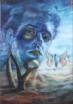 Obras de arte: America : Cuba : Ciudad_de_La_Habana : Playa : Autorretrato