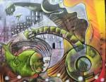Obras de arte: America : Brasil : Sao_Paulo : Sao_Paulo_ciudad : UMA CANÇÃO PARA FUGIR DA CIDADE