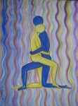 Obras de arte: Europa : España : Galicia_Pontevedra : Redondela : El abrazo (Nair)
