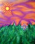 Obras de arte: America : Perú : Puno : Puno_ciudad : Flor de papa