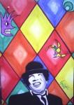 Obras de arte: America : Perú : Puno : Puno_ciudad : Humareda y su mundo de color