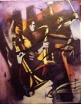 Obras de arte: America : Honduras : Francisco Morazan : Tegucigalpa : ella cantaba jazz