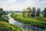 Obras de arte: America : Chile : Region_Metropolitana-Santiago : La_Reina : paisaje de rusia