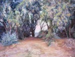 Obras de arte: Asia : Israel : Southern-Israel : Ashkelon : In the shade of trees ...