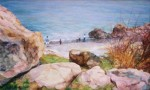 Obras de arte: Asia : Israel : Southern-Israel : Ashkelon : On the shore of the ocean