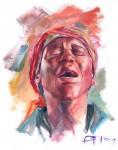 Obras de arte: America : Venezuela : Miranda : chacao : Llanto en el Congo