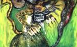 Obras de arte: America : Colombia : Antioquia : Medell�n : hawaiancat