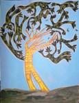 Obras de arte: America : Argentina : Buenos_Aires : cIUDAD_aUTíNOMA_DE_bS_aS : Árbol camuflado