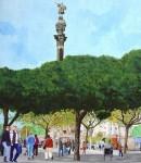 Obras de arte: Europa : España : Catalunya_Barcelona : Barcelona : Cristobal Colon