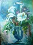 Obras de arte: America : Argentina : Buenos_Aires : Ascension : Calas en Azul