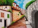 Obras de arte: Europa : España : Catalunya_Barcelona : Badalona : CALLEJON