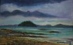 Obras de arte: America : Panam� : Panama-region : BellaVista : Isla Venado desde Playa veracruz