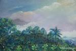 Obras de arte: America : Panamá : Panama-region : BellaVista : Vista de La Bahia de Panama