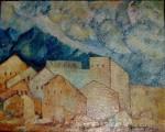 Obras de arte: America : M�xico : Nuevo_Leon : Monterrey : PAISAJE URBANO