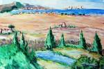 Obras de arte: Europa : España : Catalunya_Barcelona : Badalona : PANORAMICA