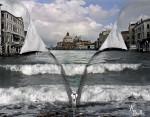 Obras de arte: Europa : España : Castilla_y_León_Segovia : segovia : Se  abre  Venecia