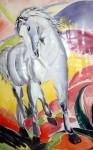 Acuarelas caballos