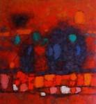Obras de arte: America : Perú : Lima : Surco : Sombras en Rojo