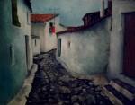 Obras de arte: Europa : España : Madrid : Madrid_ciudad : Viejo callejón