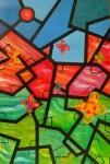 Obras de arte: America : Perú : Puno : Puno_ciudad : Campo de flores geometricas