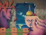 Obras de arte: America : Perú : Lima : chosica : Rtrato vacio