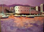Obras de arte: Europa : España : Galicia_Pontevedra : vigo : Marina 1