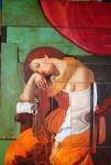 Obras de arte: America : México : Oaxaca : oaxaca_centro : TE PIENSO Y LUEGO EXISTES