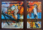 Obras de arte: America : Cuba : Camaguey : Camaguey_ciudad : Los Senderos del Abismo I