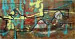 Obras de arte: America : Cuba : Camaguey : Camaguey_ciudad : los senderos del abismo II