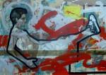 Obras de arte: America : Cuba : Camaguey : Camaguey_ciudad : los senderos del abismo VII