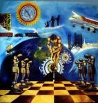 Obras de arte: America : Ecuador : Pichincha : Quito_ciudad : Migración por los siglos de los siglos