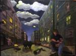 Obras de arte: Europa : España : Madrid : Madrid_ciudad : calles de madrid. Buenos Barrios
