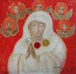 Obras de arte: America : Brasil : Sao_Paulo : Sao_Paulo_ciudad : Nossa Senhora da Rosa Mistica