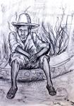 Obras de arte: America : México : Chiapas : Tapachula : campesino tzotzil