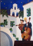 Obras de arte: Europa : España : Andalucía_Huelva : Ayamonte : patio de la jaboneria