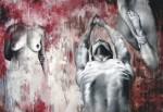 Obras de arte: America : México : Jalisco : zapopan : COMPOSICION EN ROJO