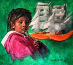 Obras de arte: America : México : Baja_California_Sur : lapaz : Difícil Decisión