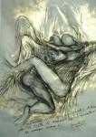 Obras de arte: America : Cuba : Holguin : Holguín_ciudad : Dos ángeles-fragmento