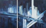 Obras de arte: America : Argentina : Buenos_Aires : Ciudad_de_Buenos_Aires : Serie Urbano No.6 (Díptico)