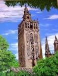 Obras de arte: Europa : España : Andalucía_Sevilla : Pilas : Torre de la Giralda