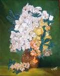 Obras de arte: Europa : España : Andalucía_Sevilla : Pilas : Jarrón con flores
